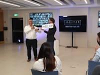 דני גבע, שותף בכיר במיתר, וליאור סושרד באירוע ההכרזה על השותפים החדשים / צילום: משרד מיתר