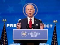 ג'ו ביידן, הנשיא הנכנס / צילום: Associated Press, Matt Slocum