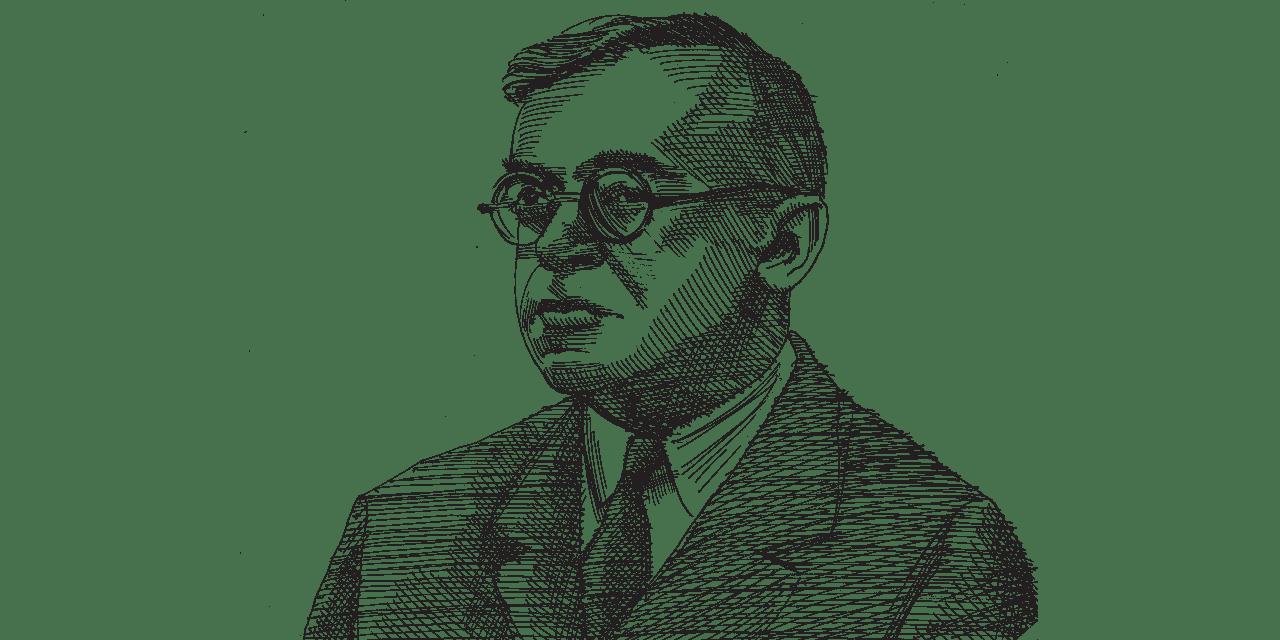 זאב ז'בוטינסקי / איור: גיל ג'יבלי