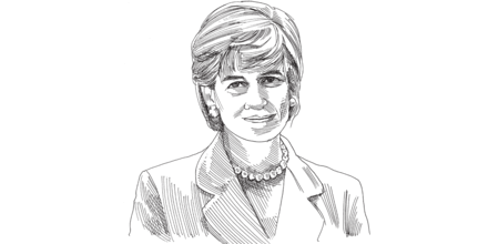 הנסיכה דיאנה / איור: גיל ג'יבלי