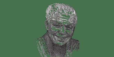נלסון מנדלה / איור: גיל ג'יבלי