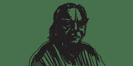 ב.ק.ס. איינגאר / איור: גיל ג'יבלי