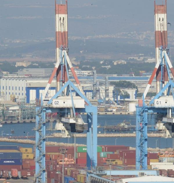 נמל חיפה החדש / צילום: איל יצהר