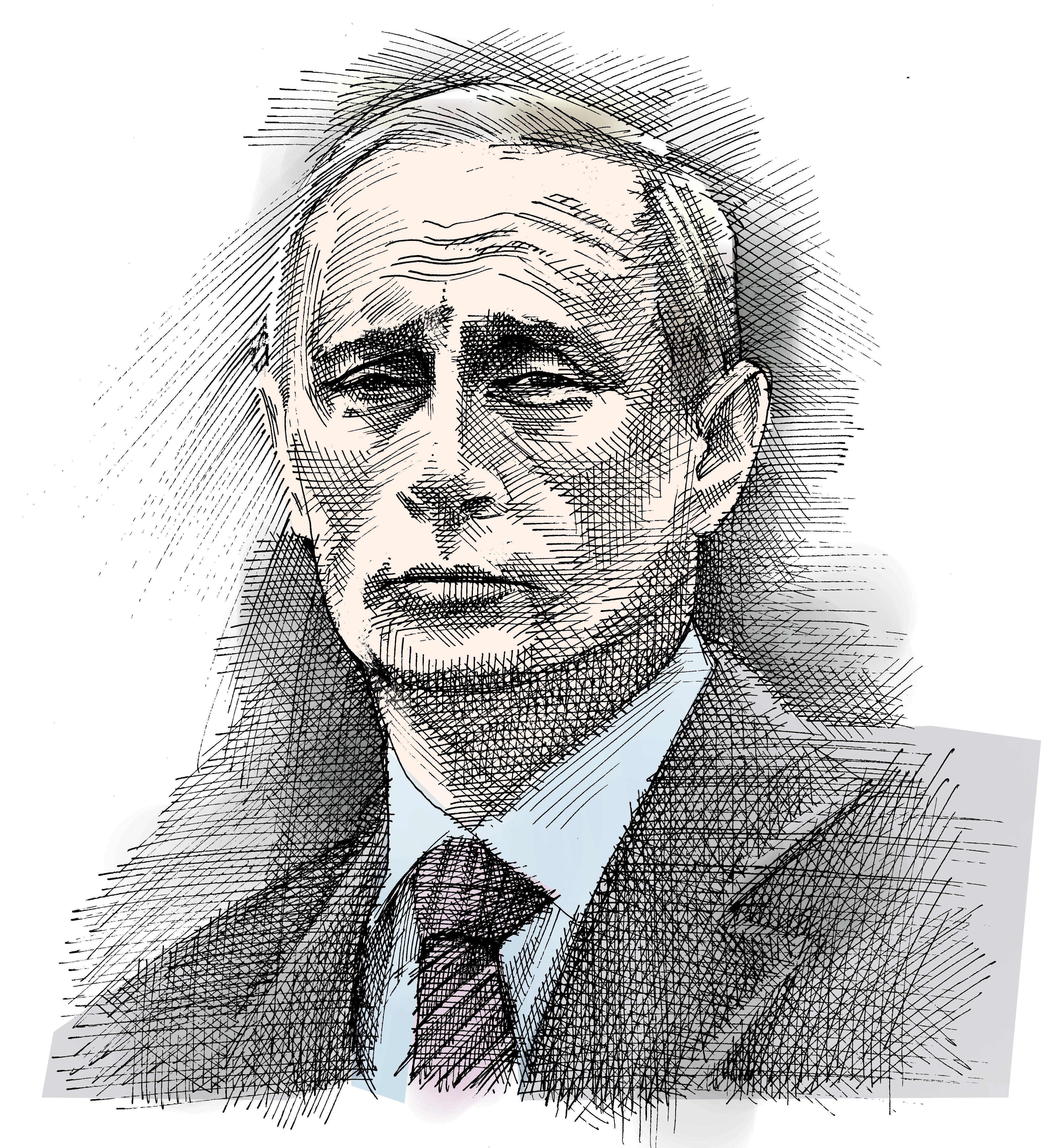 ולדימיר פוטין / איור: גיל ג'יבלי