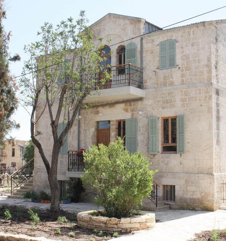 הבית הטמפלרי באלוני אבא. אין יכולת להשוות לנכסים דומים / צילום: תמונה פרטית