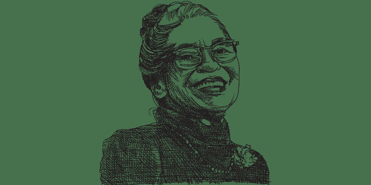 רוזה פארקס / איור: גיל ג'יבלי