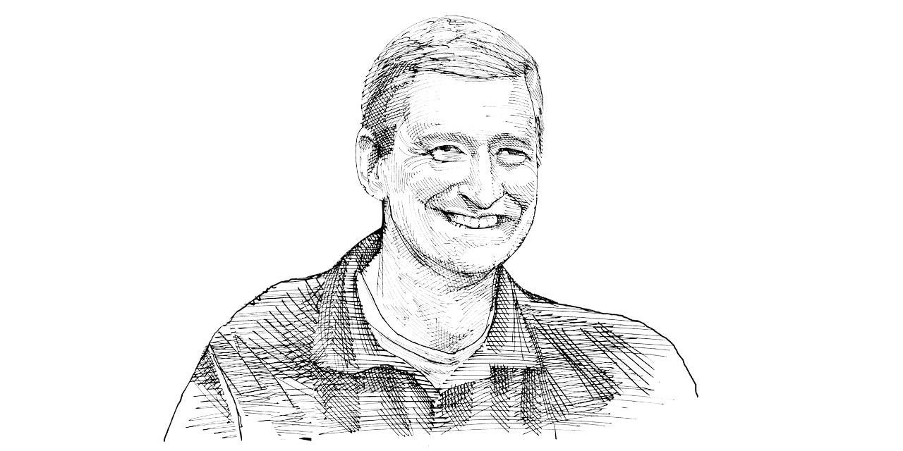 טים קוק / איור: גיל ג'יבלי