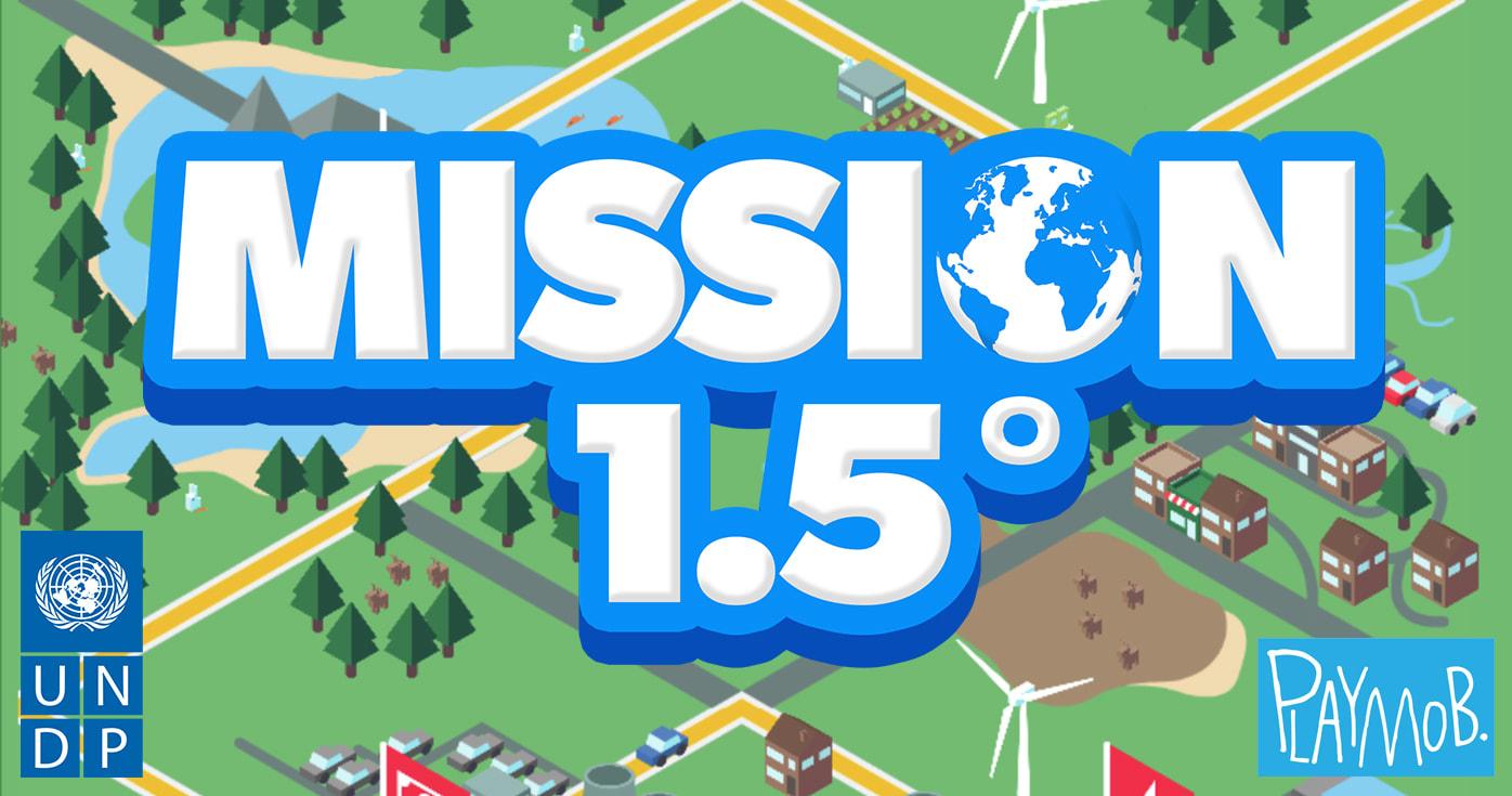 משחק לעולם טוב יותר. פותח עבור האו״ם ע״י פליימוב / צילום: אתר המשחק mission1point5.org