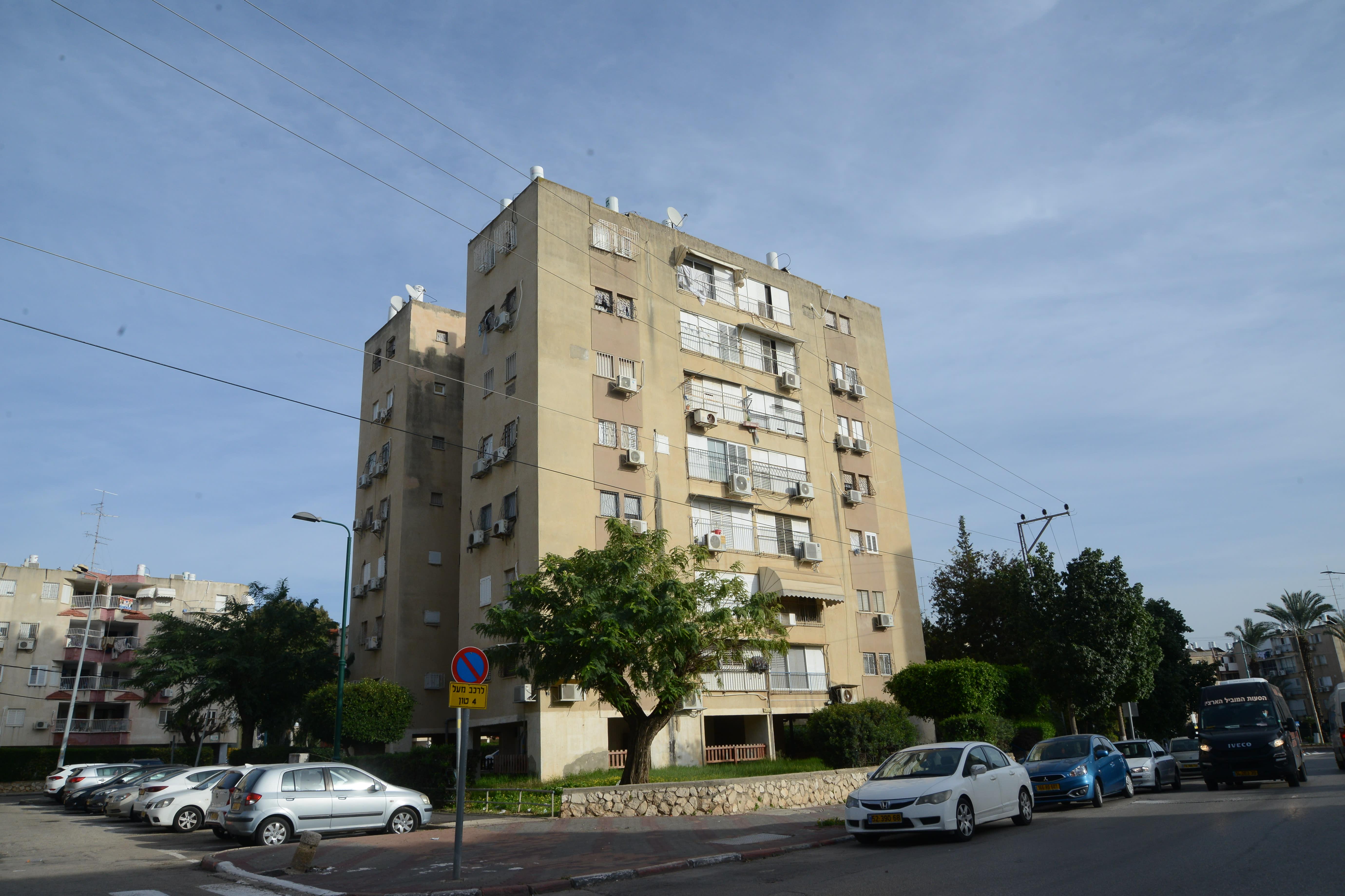 בנין רחוב יוספטל 15 רמלה / צילום: איל יצהר