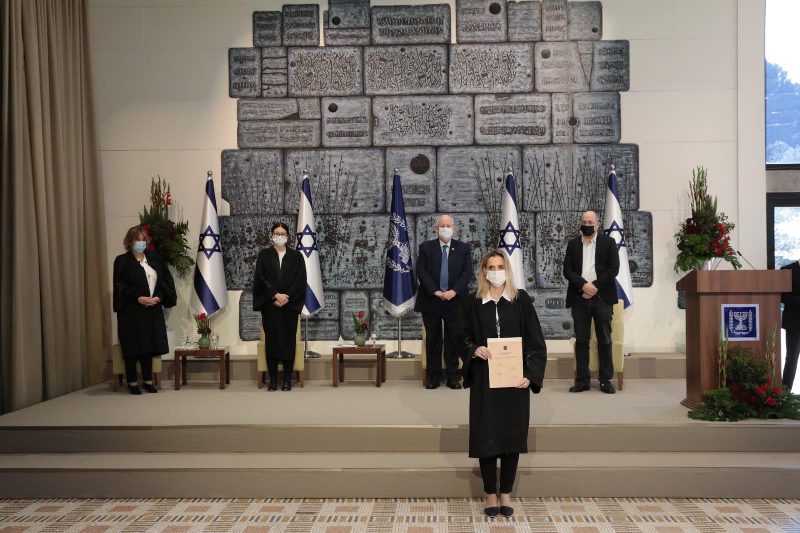 טקס השבעת השופטים החדשים / צילום: דוברות הרשות השופטת