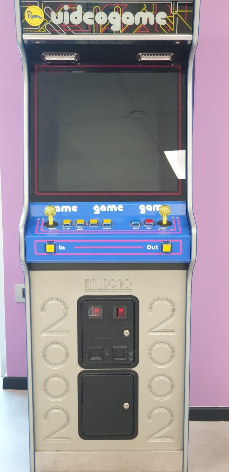 מכונת המשחקים אטארי במשרד מנצ'