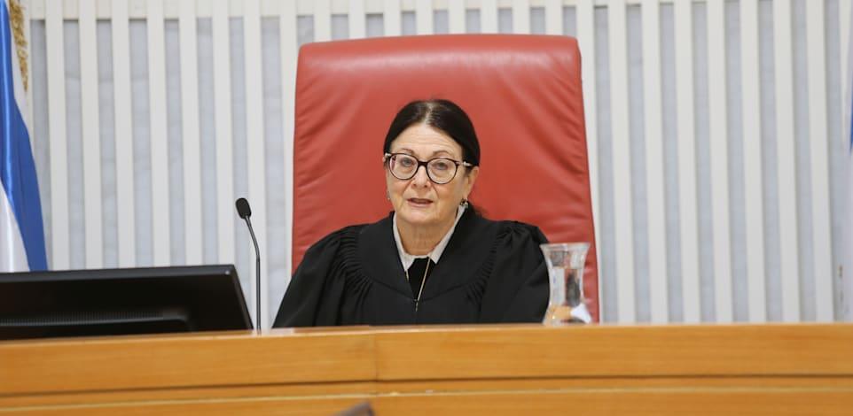 אסתר חיות - בית משפט עליון / צילום: אלכס קולומויסקי-ידיעות אחרונות