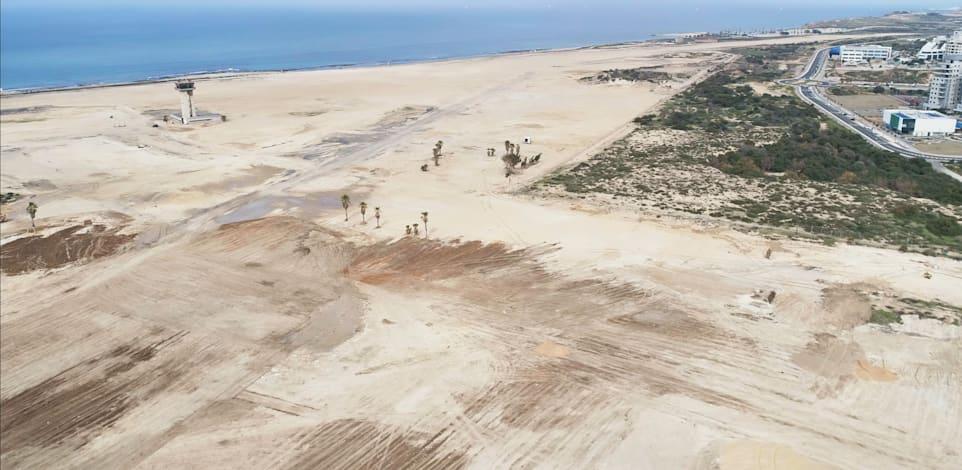 שדה דב לאחר הפינוי. הכתר של שיווקי הקרקעות בשנה הקרובה / צילום: משרד הביטחון