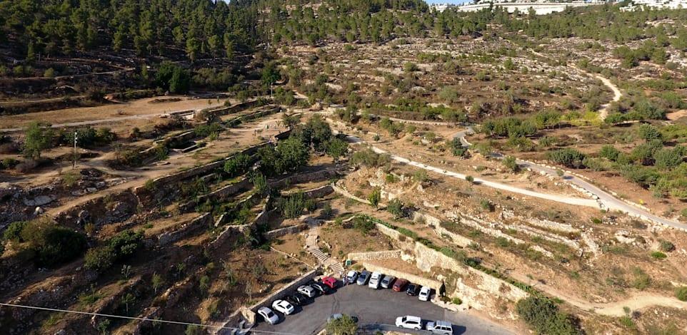 תוכנית רכס לבן - הרי ירושלים / צילום: דב גרינבלט