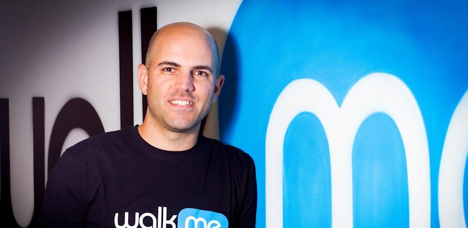 """דן עדיקא - מנכ""""ל הסטארט אפ הישראלי ווקמי WalkMe / צילום: שלומי יוסף"""