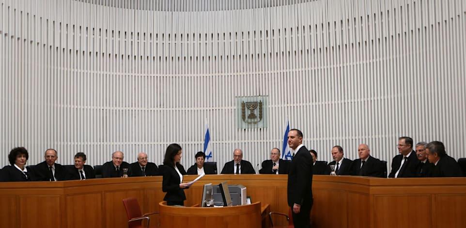 אולם של בית המשפט העליון / צילום: אלכס קולומויסקי-ידיעות אחרונות