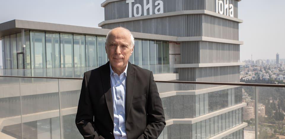 אבי יעקובוביץ, מנכ''ל חברת גב ים. / צילום: כדיה לוי
