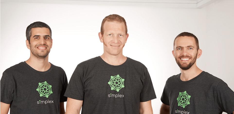"""מייסדי Simplex, ארז שפירא (מימין), נמרוד להבי ונתנאל קבלה / צילום: יח""""צ סימפלקס"""