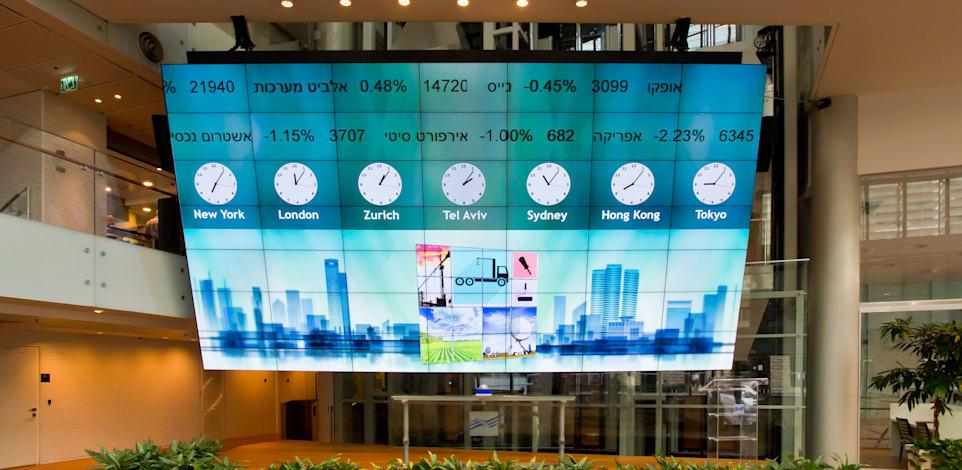 הבורסה לניירות ערך בתל אביב / צילום: Shutterstock