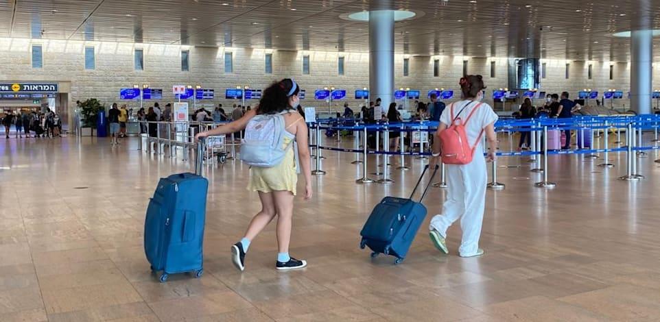שדה התעופה בתקופת הקורונה / צילום: מיכל רז חיימוביץ