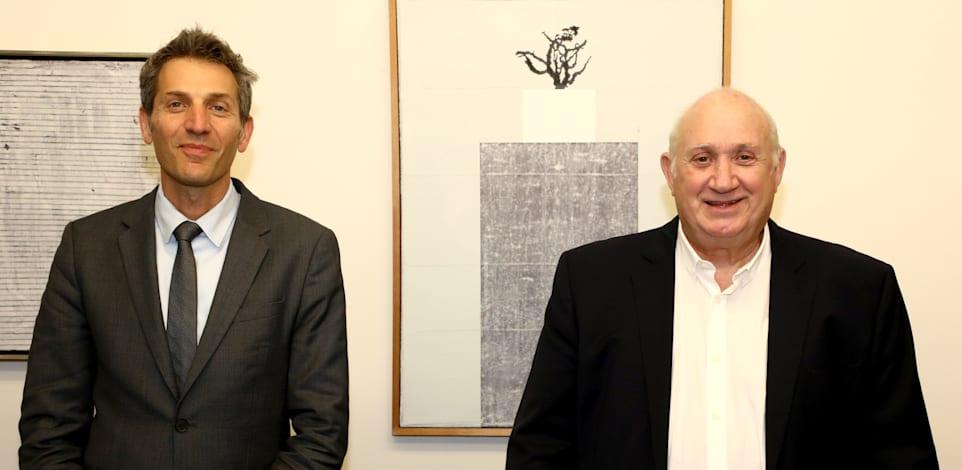 איציק אברכהן ואורי לוין / צילום: סיון פרג'