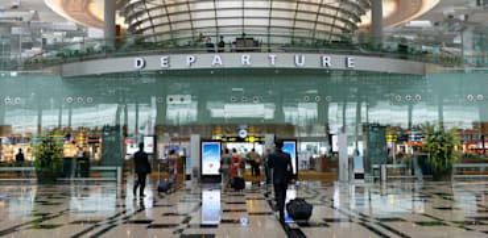 נמל התעופה של סינגפור CHANGI / צילום: Associated Press, Wong Maye-E