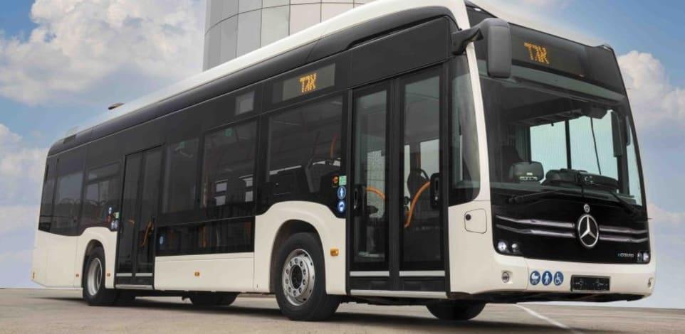 """האוטובוס החשמלי של מרצדס / צילום: יח""""צ"""