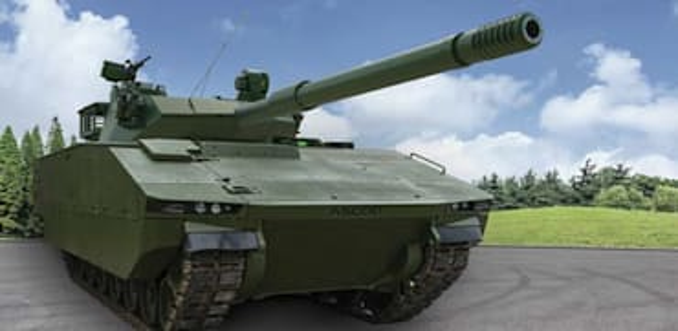טנק קל של אלביט / צילום: אלביט מערכות