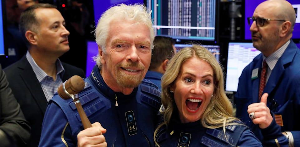 ריצ'רד ברנסון בעלי קבוצת וירג'ין וחברת וירג'ין גלקטיק / צילום: Reuters, Brendan Mcdermid