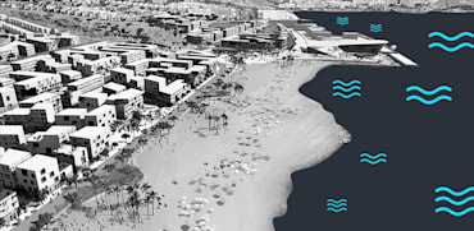 התכנון על שטח הנמל. כתבות הנדלן שעשו את השבוע / הדמיה: מייזליץ-כסיף-רויטמן אדריכלים
