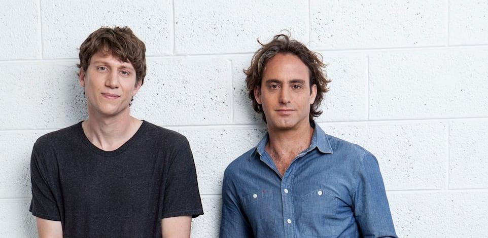 אסף פלדמן (מימין) ועידו גל, מייסדי חברת ריסקיפייד Riskified / צילום: עדי אורני