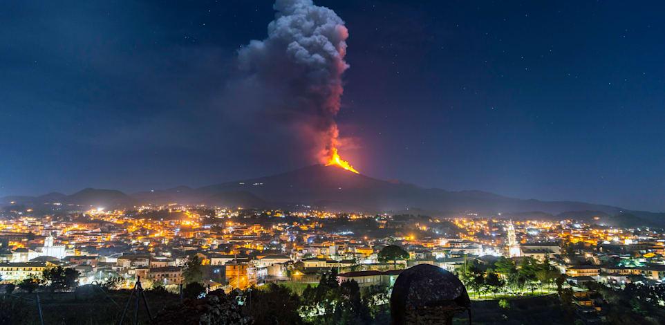 הר הגעש התעורר לחיים