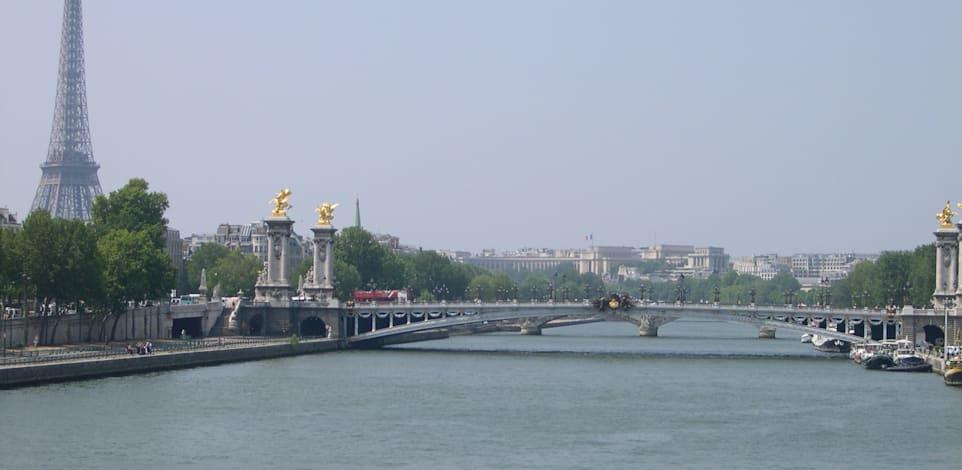 פריז, גשר אלכסנדר, אייפל, נהר הסיין / צילום: רון פז