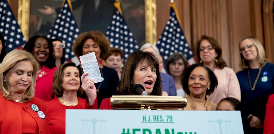 נציגת בית הנבחרים, ג׳קי ספייר / צילום: Associated Press, J. Scott Applewhite