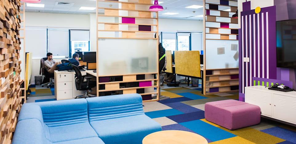 """משרדי סלברייט. """"משרדי המנהלים הפכו לחדרי דיונים בימים שהם לא נמצאים"""" / צילום: סלברייט"""