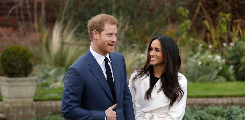 מייגן מרקל והנסיך הארי / צילום: Associated Press, Matt Dunham