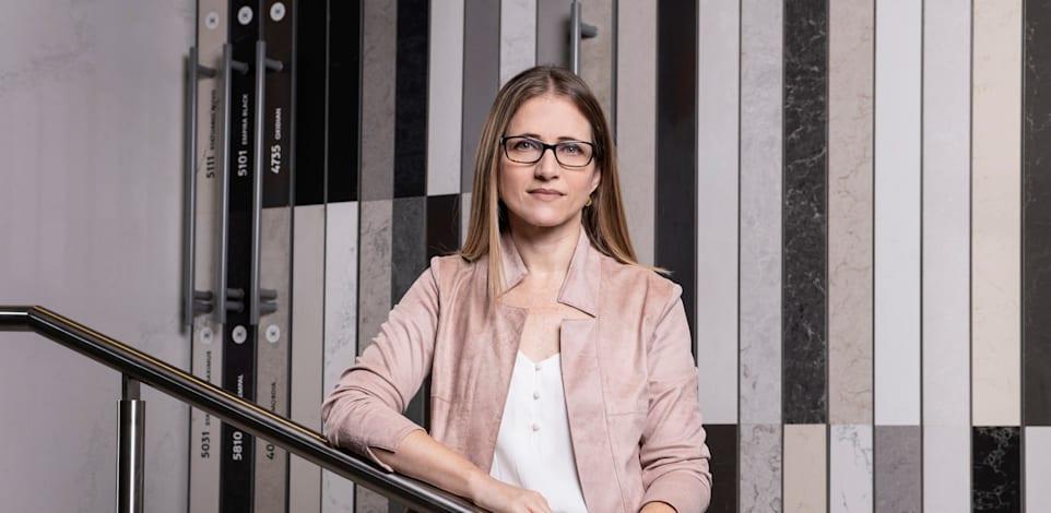 רינת אפרימה, מנכ״לית אבן קיסר / צילום: איליה מלינקוב