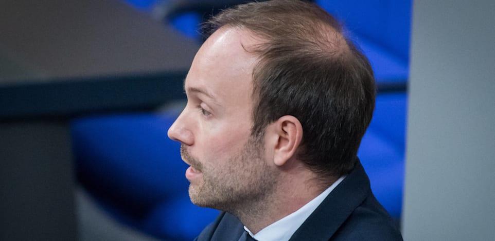 חבר הפרלמנט הגרמני ניקולאס לבל / צילום: Reuters, כריסטיאן ספיקר