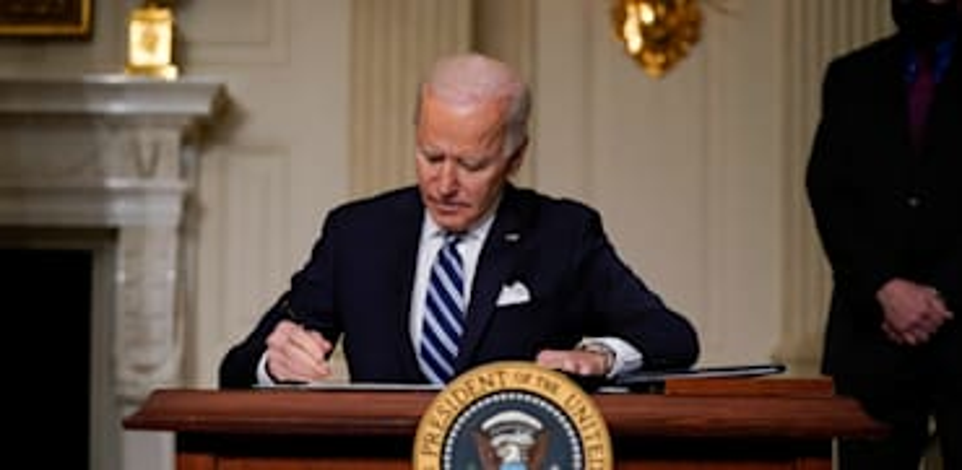 "נשיא ארה""ב ג'ו ביידן. ישנה את הקונצנזוס הכלכלי? / צילום: Associated Press, Evan Vucci"
