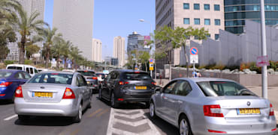 עובדי משרדי הממשלה מחזיקים יותר כלי רכב ביחס לשאר המשק / צילום: כדיה לוי