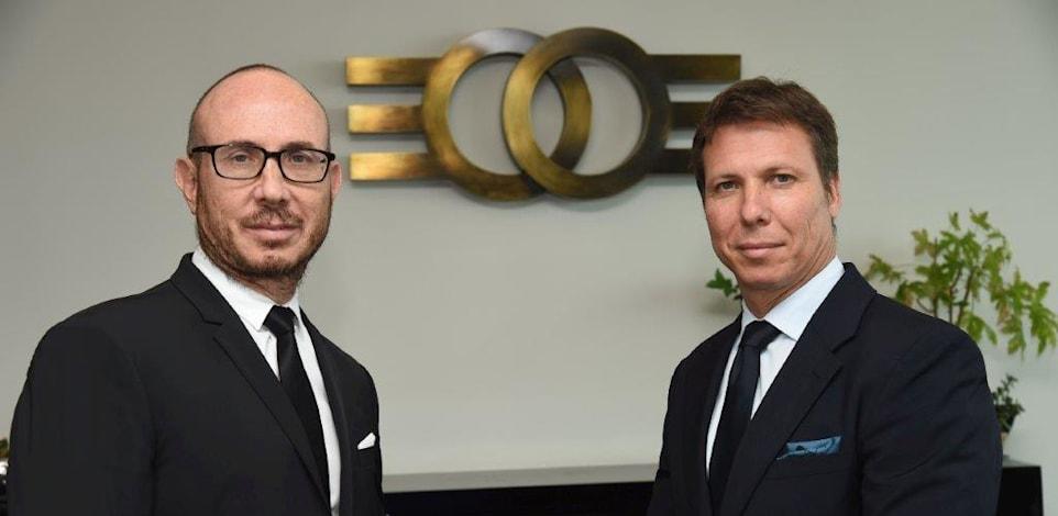 מיכאל (מימין) ודניאל זלקינד בעלי חברת אלקו / צילום: ישראל הדרי