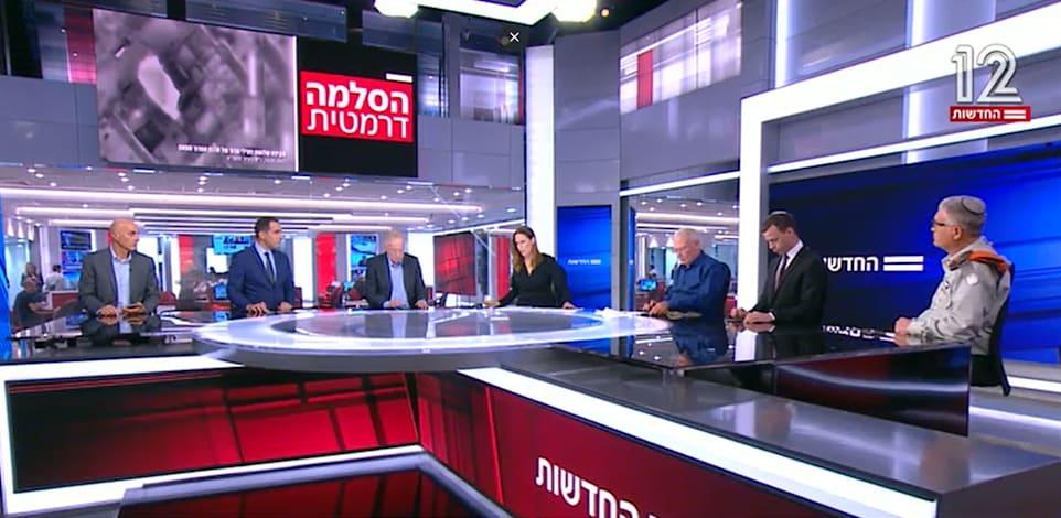 המהדורה המרכזית של חדשות 12, אמש / צילום: חדשות 12