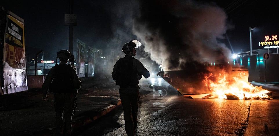 לוד, אמש / צילום: Associated Press, Heidi Levine