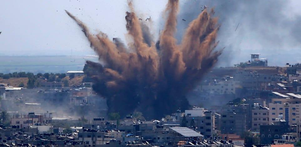 תקיפה של חייל האוויר הישראלי בעזה