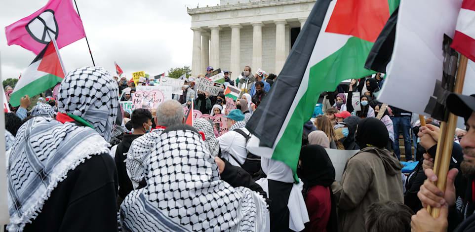 """הפגנות בארה""""ב / צילום: Shutterstock"""
