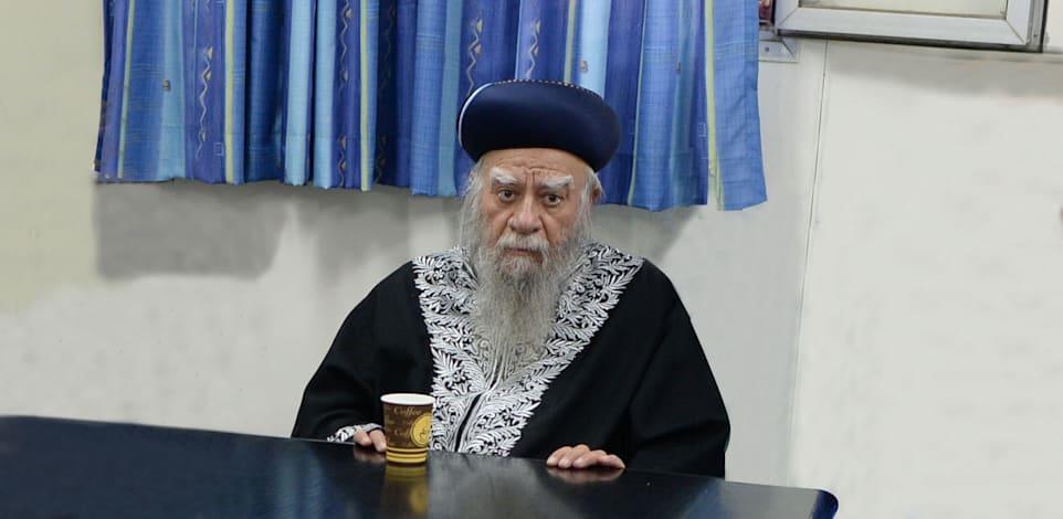 """הרב אליהו בקשי דורון / צילום: קובי גדעון-לע""""מ"""
