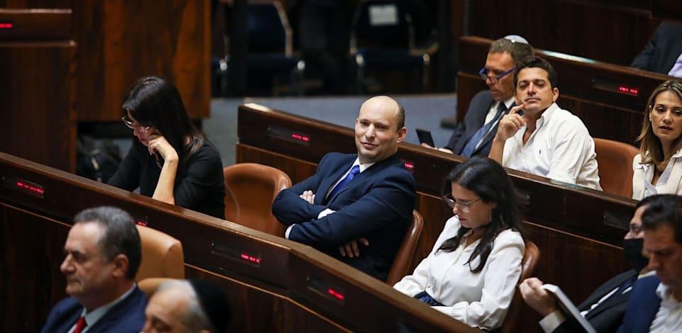 מתוך מליאת הכנסת לקראת השבעת הממשלה / צילום: דוברות הכנסת, נועם מושקוביץ