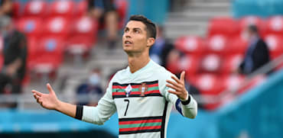 רונאלדו במהלך המשחק מול הונגריה / צילום: Associated Press, Tibor Illyes
