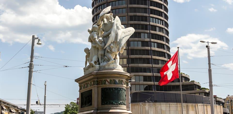הבנק להסדרי סליקה בינלאומיים בשווייץ. הסדרה ראשונה של החזקת מטבעות קריפטו בבנקים / צילום: Shutterstock