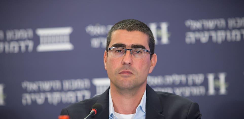 הממונה על השכר והסכמי עבודה במשרד האוצר, קובי בר נתן / צילום: המכון הישראלי לדמוקרטיה